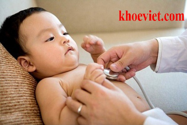 viêm tiểu phế quản co thắt ở trẻ em