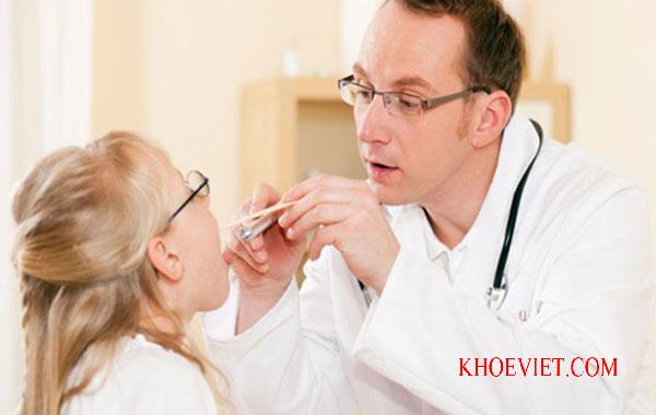viêm mũi họng cấp ở trẻ em