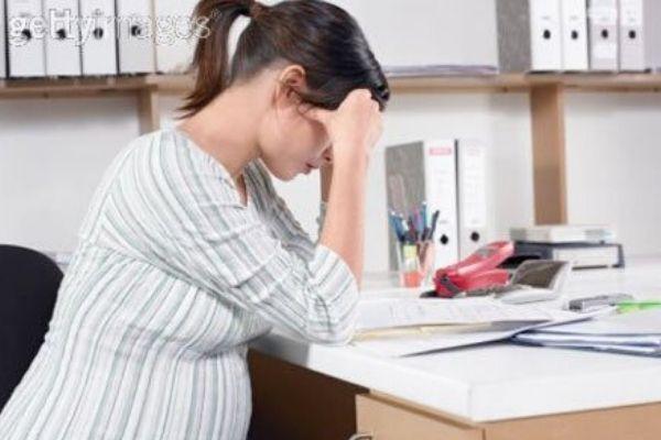 cách giảm đau đầu khi mang thai